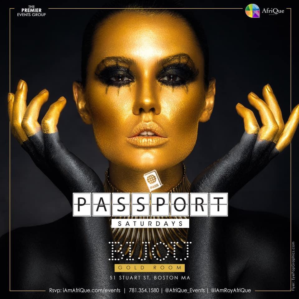 PASSPORT SATURDAYS | BIJOU[Gold Room]10p-2a