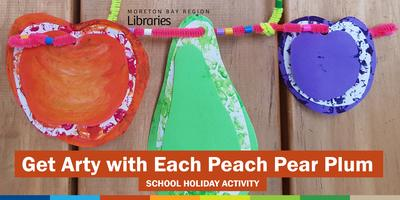 Get Arty with Each Peach Pear Plum (3-5 years) -...