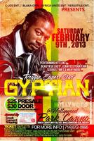 "Reggae SuperStar ""GYPTIAN""  live in LA"