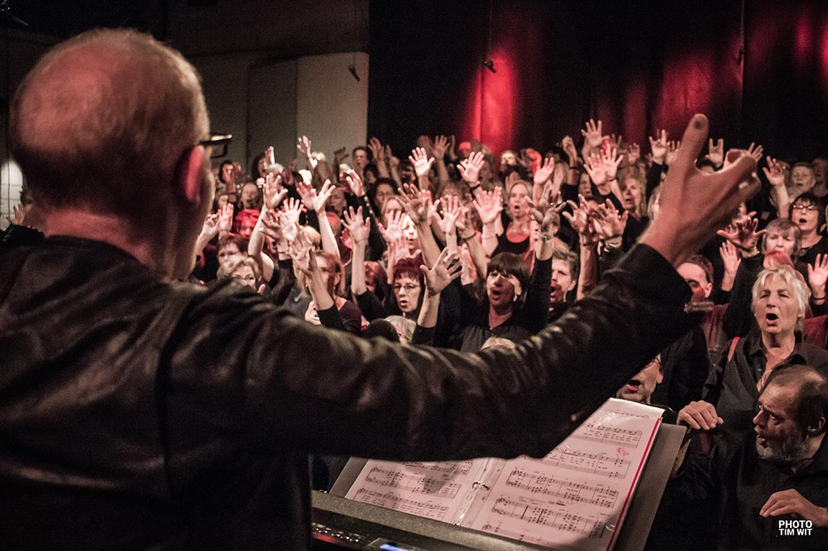 Pop- & Gospelchortag Stuttgart mit Dieter Falk und Mischa Züwerink