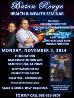 Baton Rouge Health & Wealth Seminar