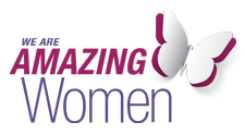 We are AMAZING WOMEN Alliance  logo