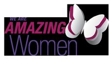 We are AMAZING WOMEN Alliance  logo