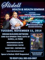 Slidell Health & Wealth Seminar