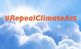 #RepealClimateAct