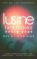 The Do LaB presents Lusine, Tara Brooks, and Henry...