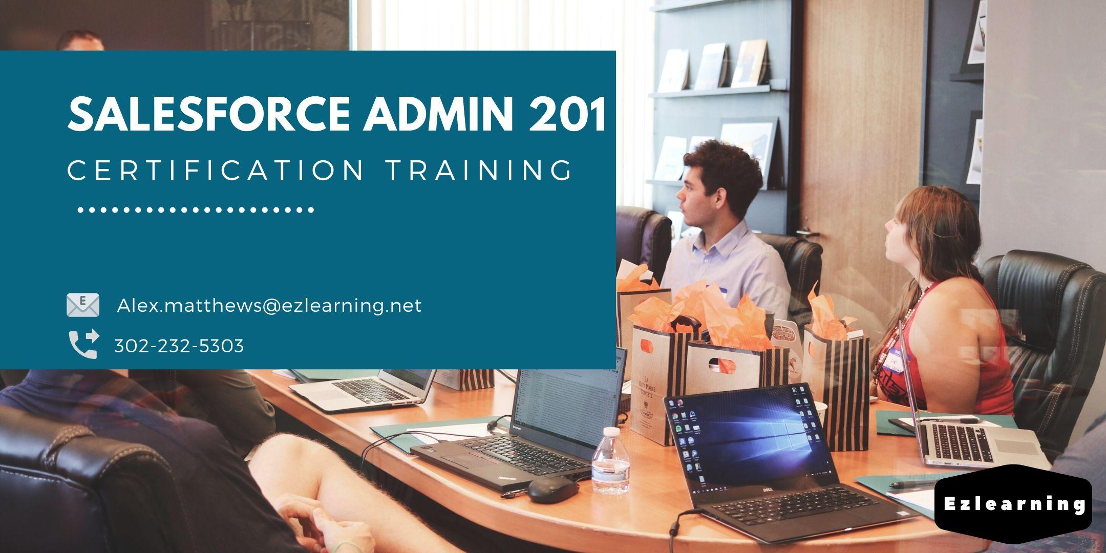 Salesforce Admin 201 Certification Training in Burnaby, BC