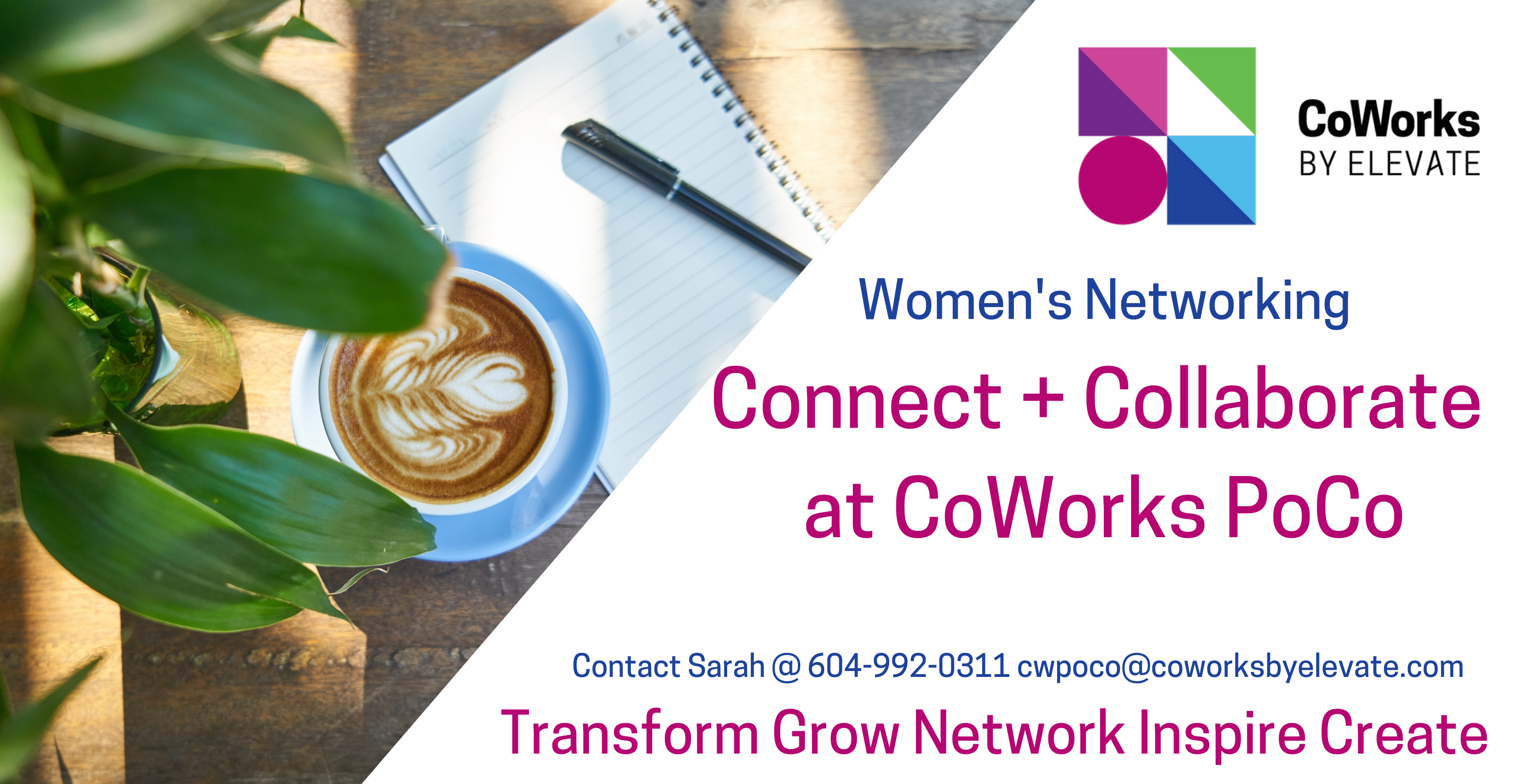 Connect + Collaborate at CoWorks Port Coquitlam