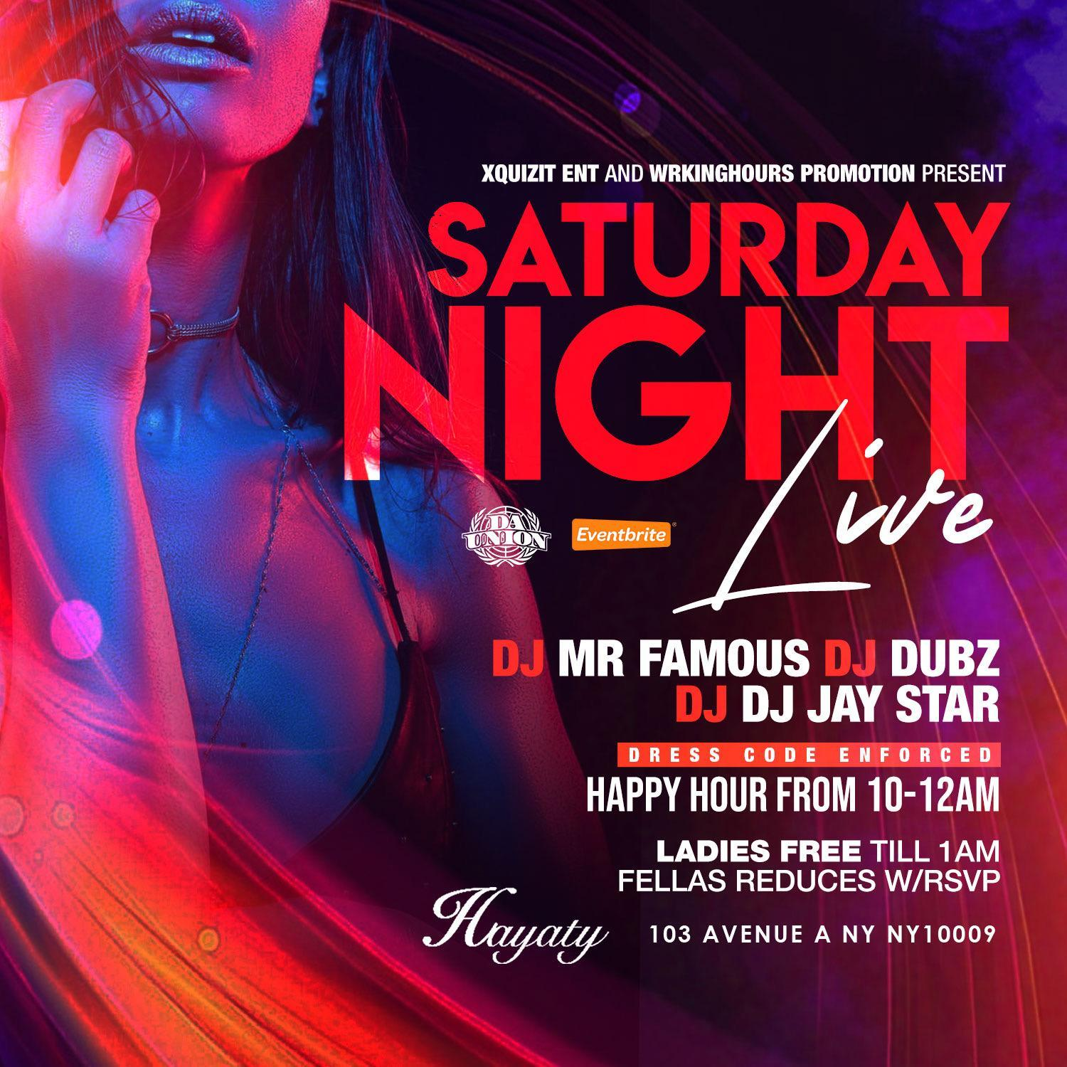Saturday Night Live (FREE ENTRY) #SNLSaturdays