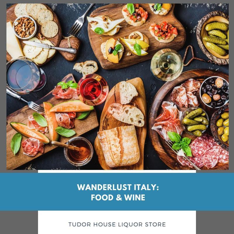 Wanderlust Italy: Food & Wine Series