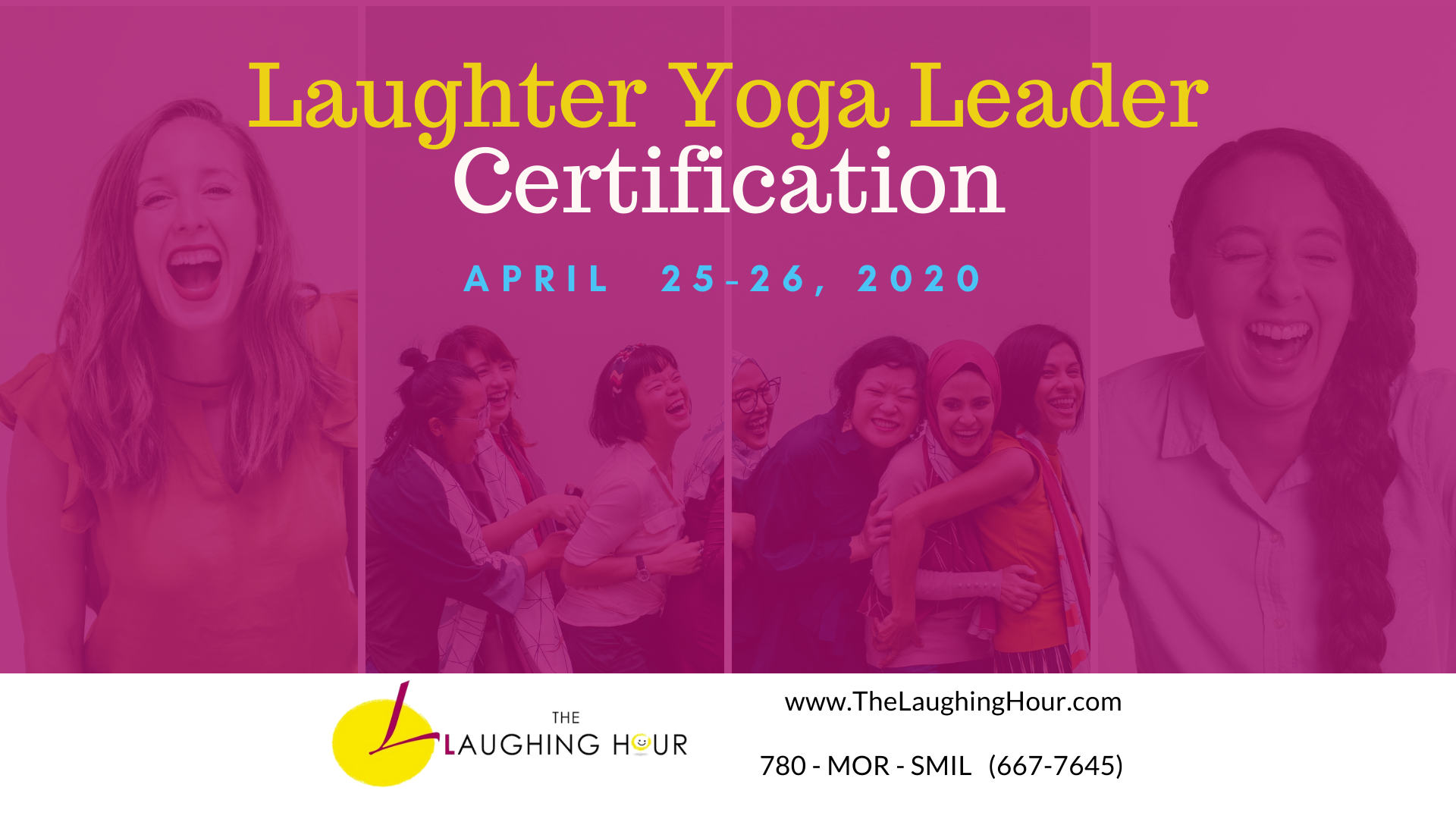Laughter Yoga Leader Certification - 2020