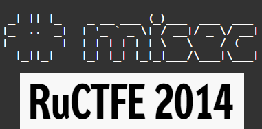 #misec RuCTFE 2014 - In it to win it!
