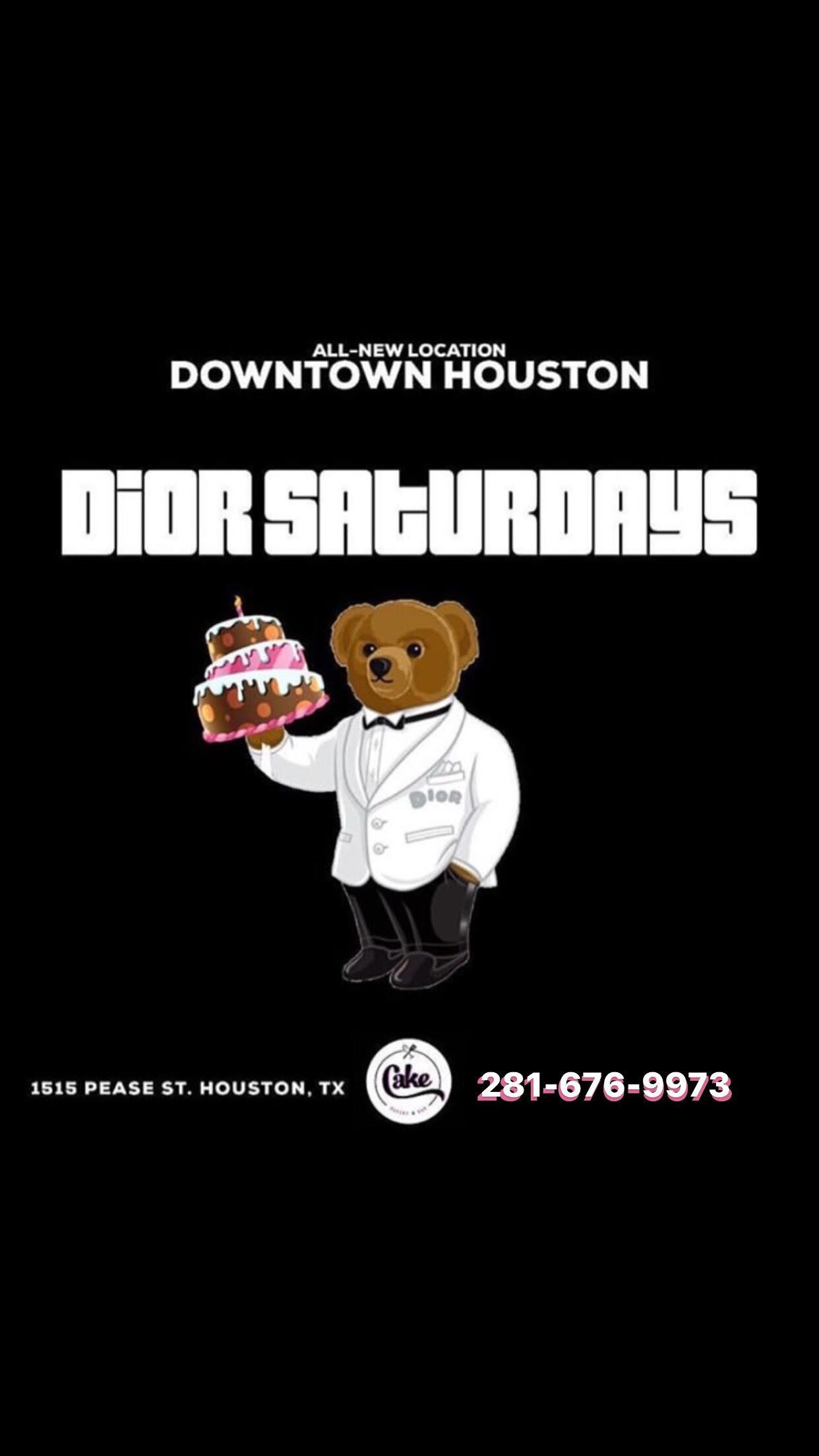 Dior Saturdays @ CAKE Houston Mega Nightclub