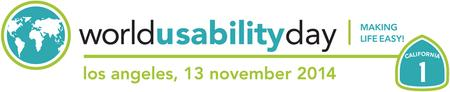 World Usability Day 2014 | Engaging Stakeholders,...