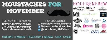 Moustaches for Movember #MFMVan