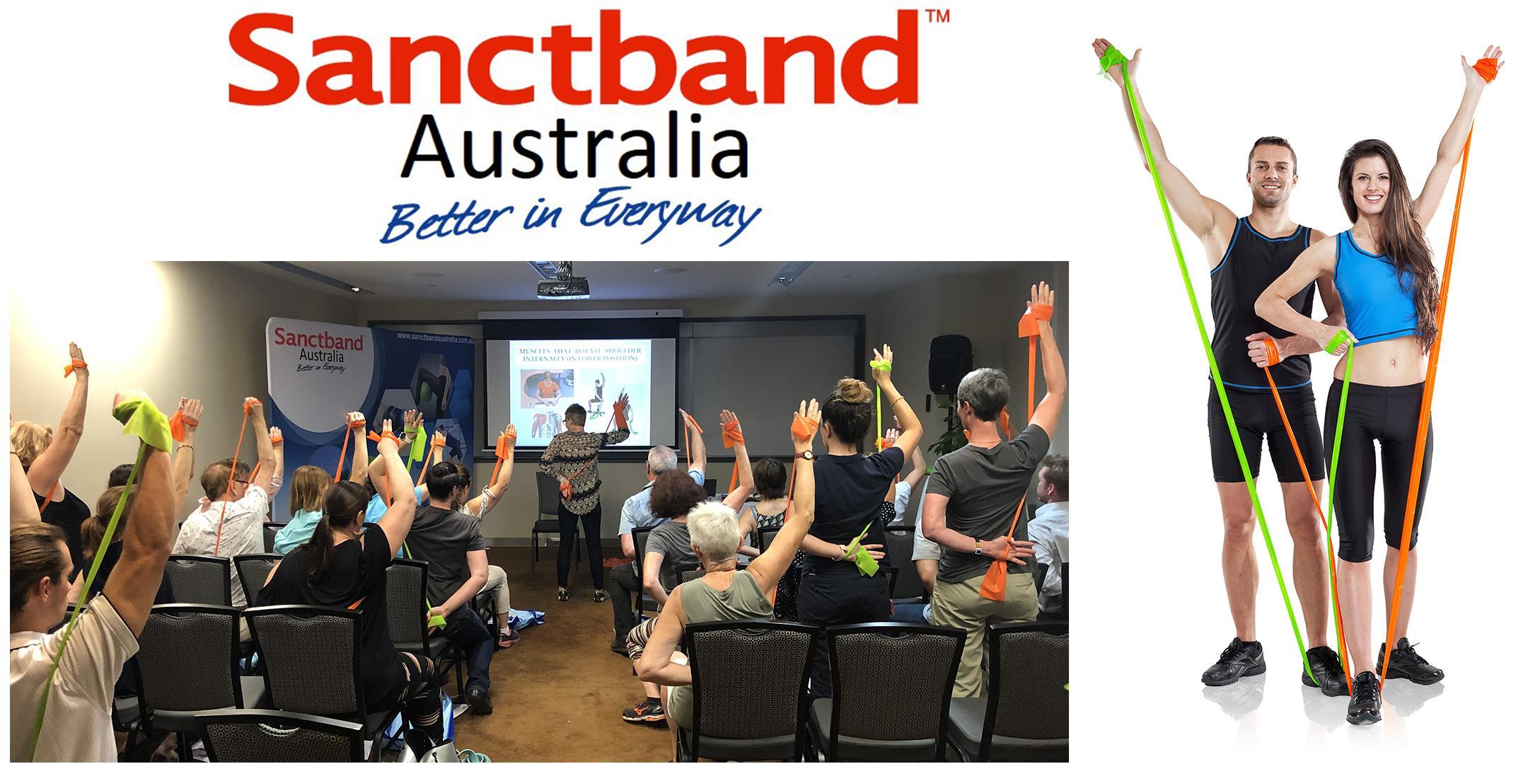 Sanctband Elastic Resistance Workshop by Dr. Dagmar Pavlu - Perth