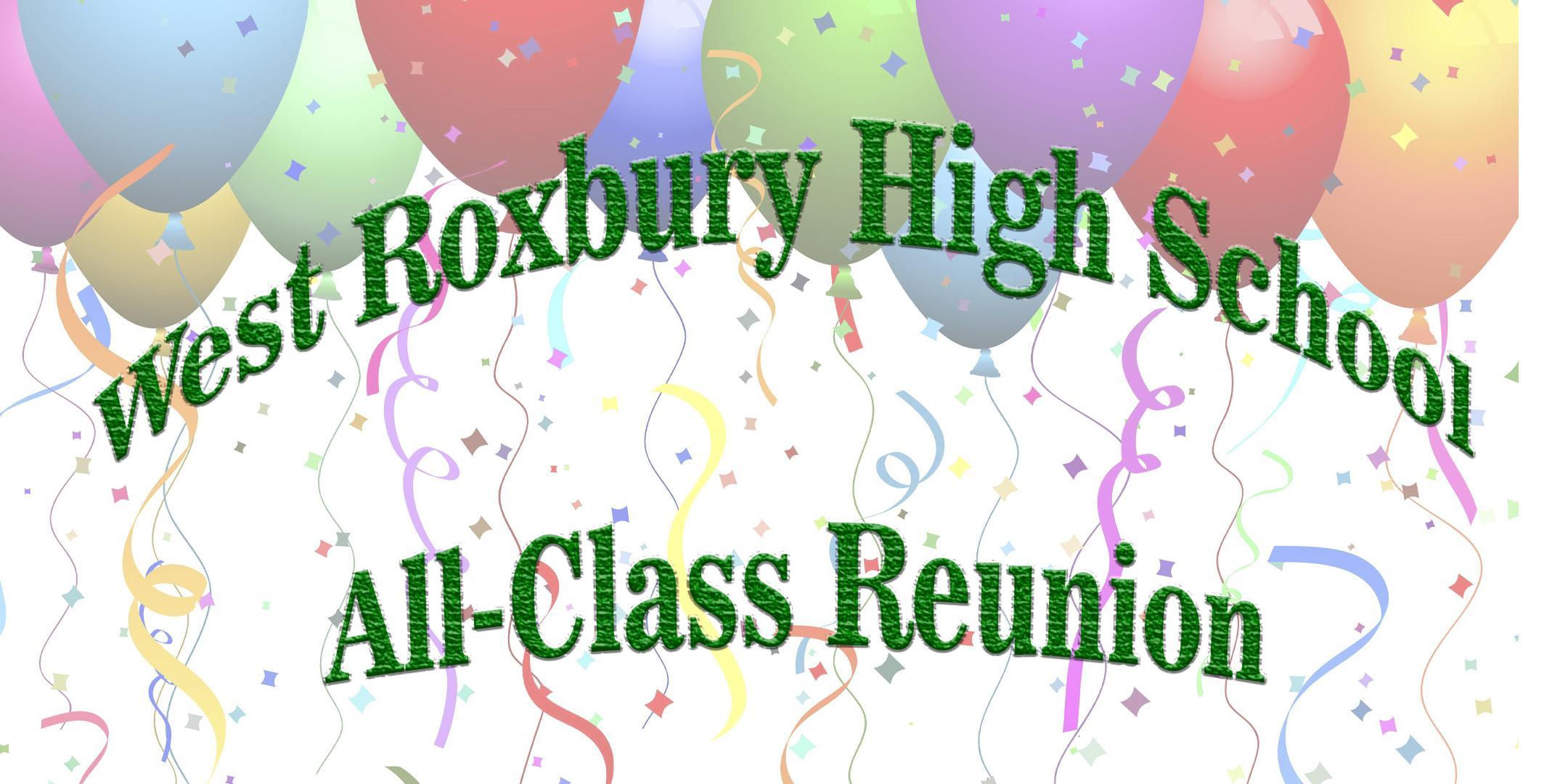 West Roxbury High School All-Class Reunion