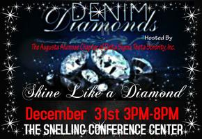 NEW YEAR'S EVE DAY PARTY (DENIM & Diamonds event)