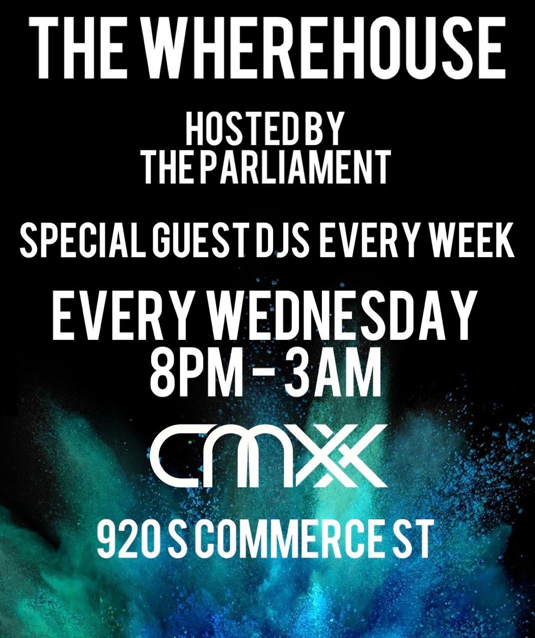 WHEREHOUSE WEDNESDAY | HOUSE MUSIC ALL NIGHT!