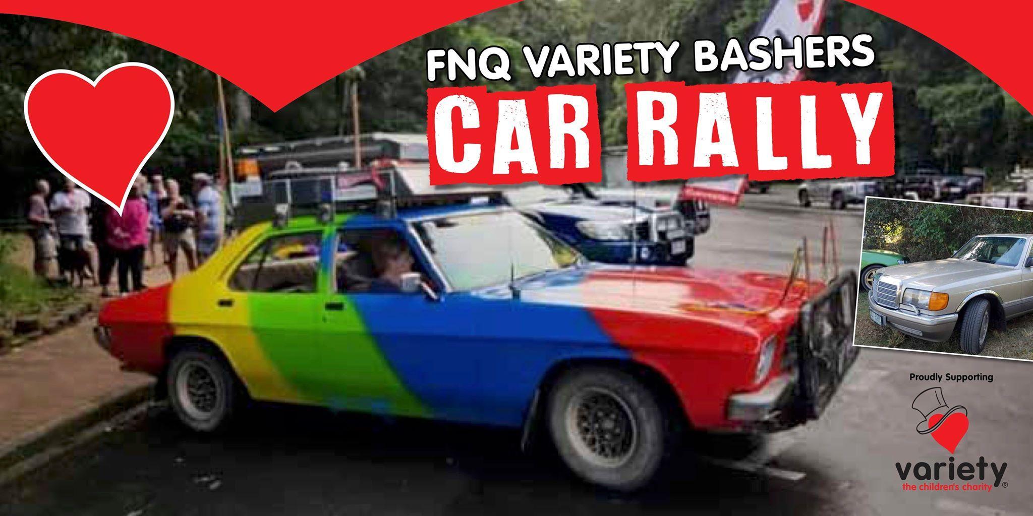 FNQ VARIETY BASHERS CAR RALLY
