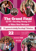 The Grand Final of UK's Dazzling Beauty 2014