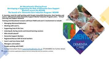 Dementia - Celebrating The  role of the Dementia Care...