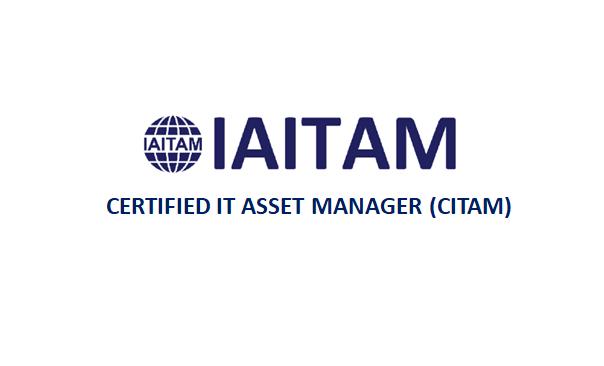 IAITAM Certified IT Asset Manager (CITAM) 4 Days Training in Seattle, WA