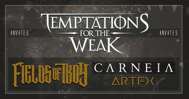 Temptations for the Weak club-tour at De Verlichte...