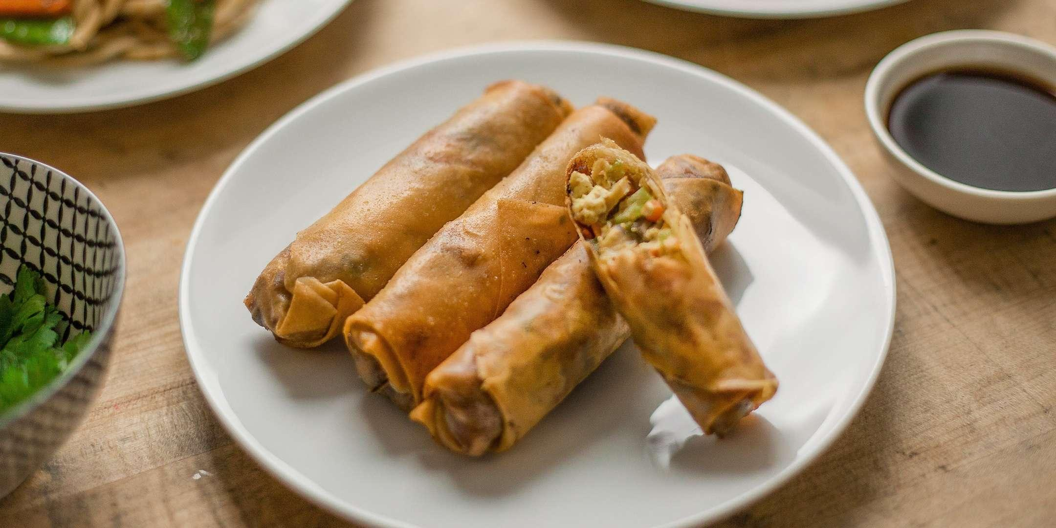 Handmade Chinese Egg Rolls - Cooking Class by Golden Apron™