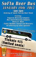 South Florida Beer Bus (Kicking off South Florida Beer...