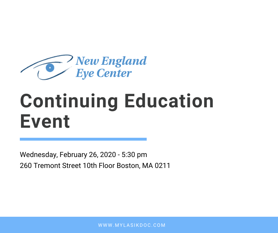 New England Eye Center CE Event