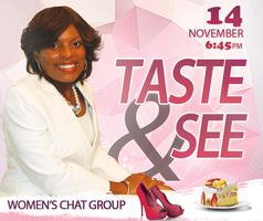TASTE & SEE Presented by Ericka White Ministries