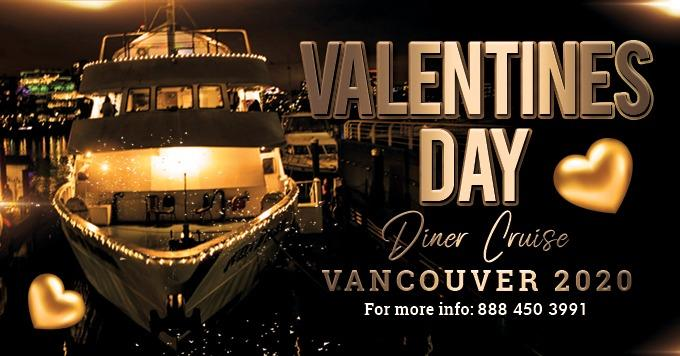 Valentines Day Dinner Cruise Vancouver 2020
