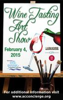 At the Shore Wine Tasting Art Show