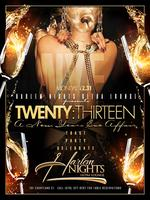 NYE 2012 @ HARLEM NIGHTS $5000 Cash drop