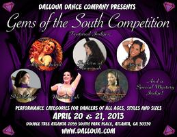 Gem's of the South Belly Dance Competition