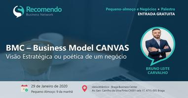 Pequeno-almoço + Palestra: BMC - Business Model...