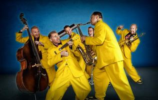 The Jive Aces in Glasgow