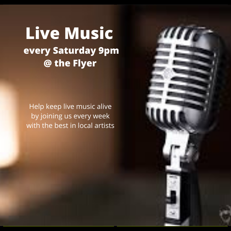 Live Music Saturday Nights