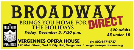Broadway Direct: Brings You Home for the Holidays