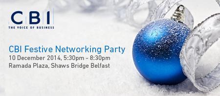 CBI NI Festive Networking Event - 10 December 2014