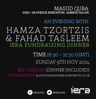An Evening with Hamza Tzortzis & Sh. Fahad Tasleem