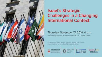Israel's Strategic Challenges in a Changing...