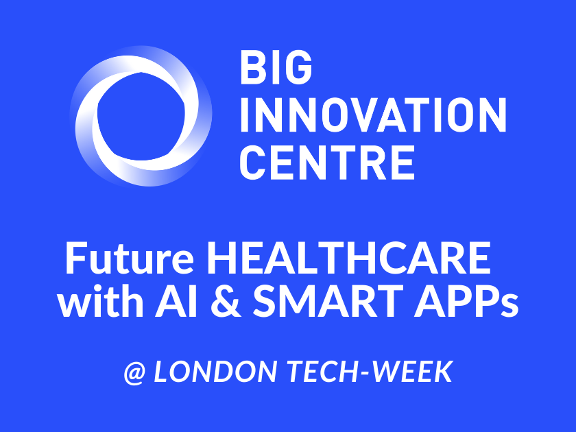 INNOVATION SHOWCASE @ LONDON TECH WEEK - Future Health Care With AI and Smart Apps