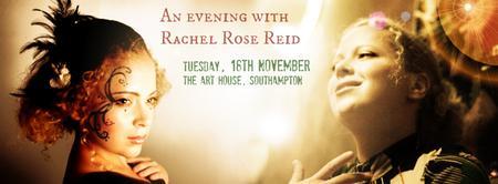 An evening with Rachel Rose Reid   Tue 18th Nov   The...