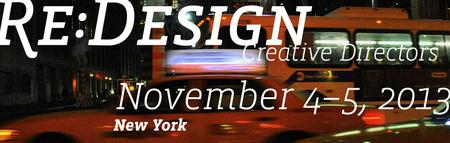 RE:DESIGN/Creative Directors 2013