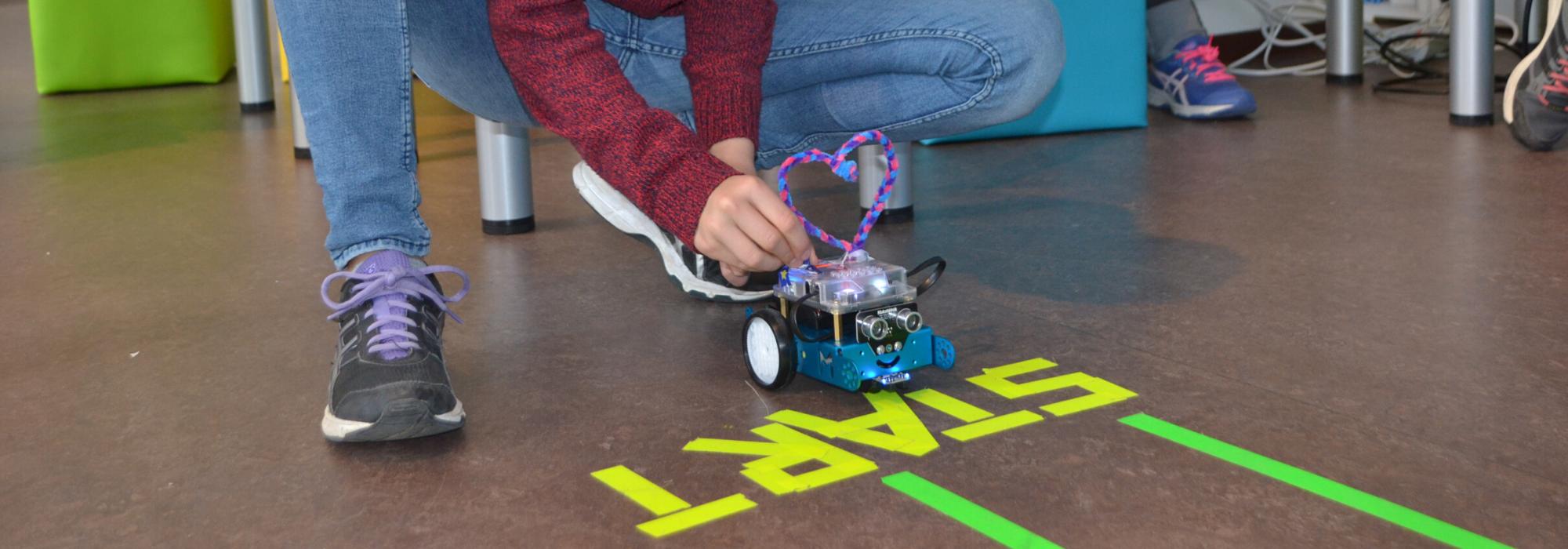 ABGESAGT: Robotics: hier lernst Du alles über das Programmieren von Robotern!