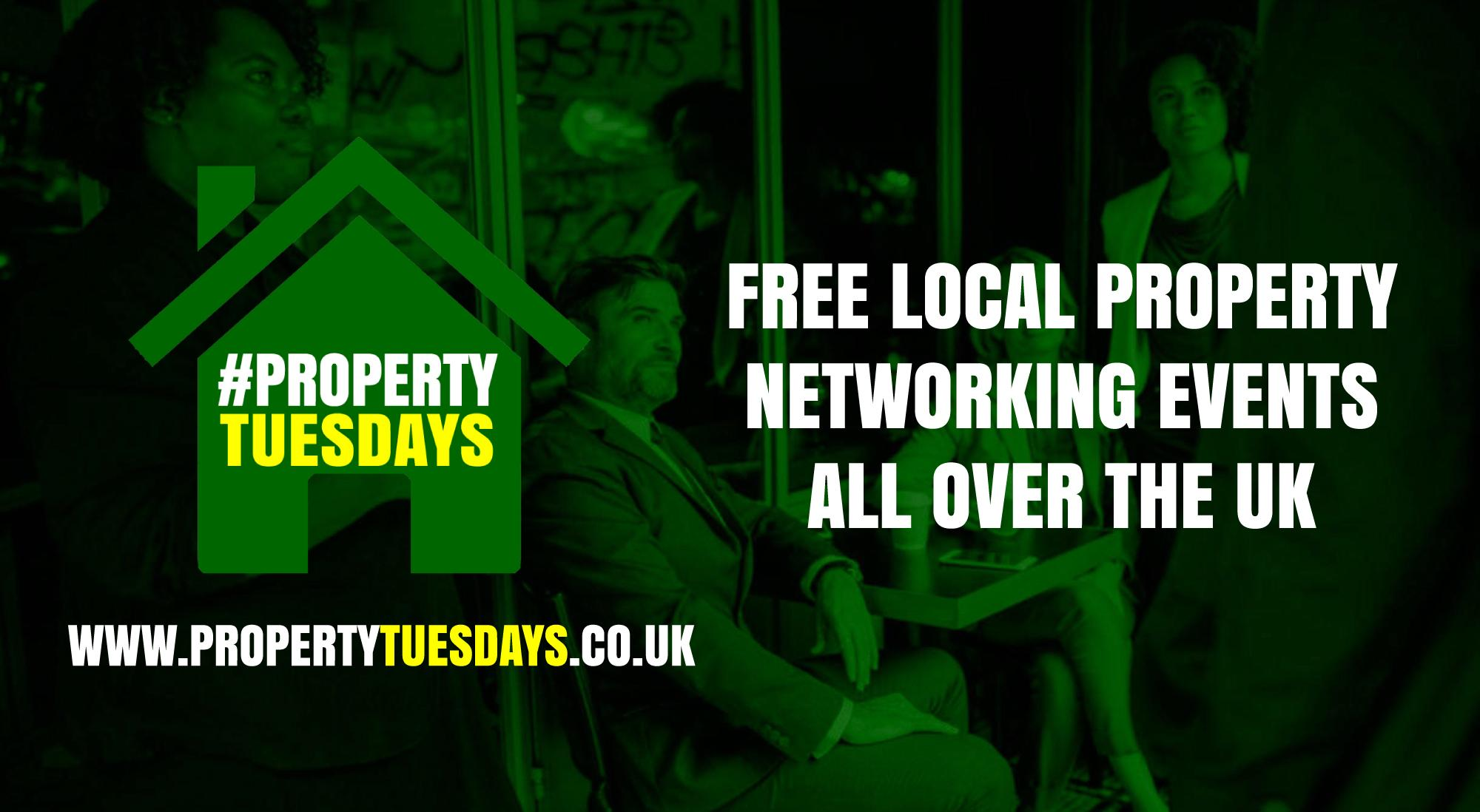 Property Tuesdays! Free property networking event in Edinburgh