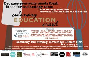 Culinary Education Crawl 2014   (for complete course...