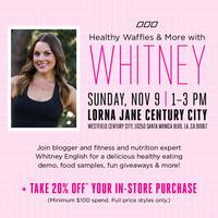 Healthy Waffles & More with Whitney